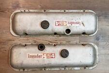 1970 70 1971 71 GMC CHEVROLET INVADER 454 V8 ENGINE VALVE COVERS OEM BOAT