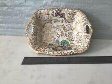Pompadour Lord Nelson Ware Rectangular Dish Made In England