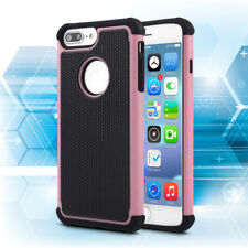 Apple iPhone 6 6S Pink/Blk Defender Heavy Duty Protective Phone Case Cover 4.7