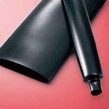 "Sumitube R10 1-1/4 Heat Shrink Tubing; UL; ""Rubber"" Elastomeric; 1-1/4 Black"