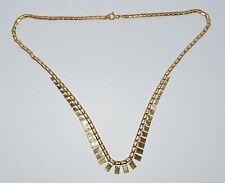 18Carat Yellow Gold No Stone Collar Fine Necklaces & Pendants