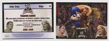 JOHN CENA & EDGE 2008 WWE *RARE!* p1 Ultimate Rivals Promo Card