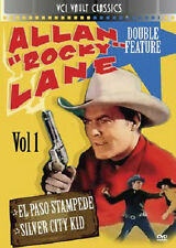 Allan ROCK Lane 2x Película Vol.1 EL PASO Stampede (1953) Silver City Kid (1944)