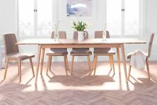 Edvard Olsen Golden Oak large rectangle extending dining table.Oak table,QUALITY