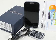 SAMSUNG Galaxy S III SGH-I747 Mobile 16GB Pebble Blue Android Smartphone AT&T