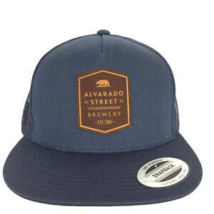 Alvarado Street Brewery Patch Cap Beer Logo Snap Back Trucker Baseball Dad Hat
