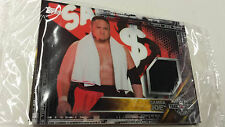 2016 TOPPS WWE Samoa Joe NXT Londres Takeover Authentic Mat Relic