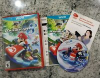 Nintendo Wii U Mario Kart 8 Game Disc w/Red Box Cart Racing Super Bros. Fun!