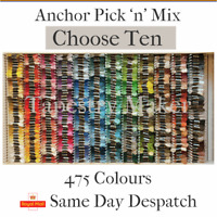 Anchor Tapestry Wool Pic & Mix  - Choose 10 x 10m