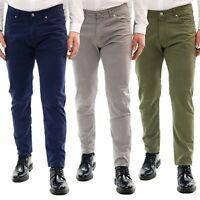Pantaloni Uomo Slim FIt Chino Estivi Elegante Cotone Leggero Casual 5 Tasche