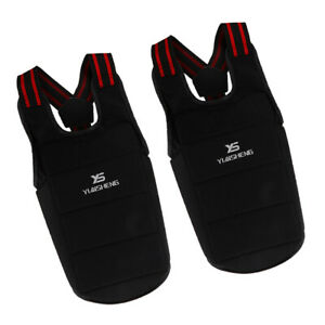 Pack 2 Adult Karate Chest  Protector Protective Gear for Taekwondo