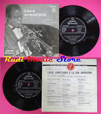 LP 45 7'' LOUIS ARMSTRONG Body and soul Stardust I can't give you no cd mc dvd