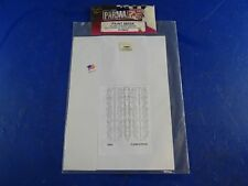 Parma 10662 Paint Mask: flame Stripes Desigh w/Transfer Tape & Instructions