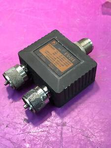 DAIWA DX-10D DUPLEXER - HF/VHF/UHF - 2M/70CM SAME ANTENNA
