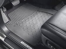 *NEW LEXUS IS250 IS350 OEM HIGH QUALITY WEATHER RUBBER FLOOR MATS FRONT/ REAR