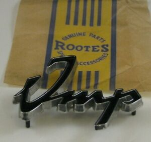 Rootes Group Hillman Sunbeam Imp Chamois Original NOS 'IMP' Badge Emblem