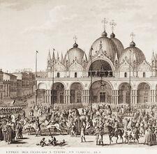 VENEZIA 1797 - NAPOLEONE - Vernet - INCISIONE ORIGINALE