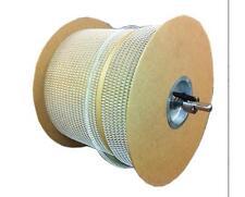 1/4 in. White 3:1 Pitch Double Loop Binding Wires 80,000 Loops/Spool Binding
