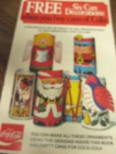 Coca Cola Can Decorations/Ornament Stickers   Free Shipping