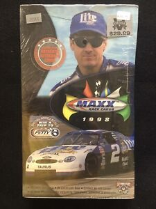 1998 Upper Deck Maxx NASCAR Racing  Sealed Box Earnhardt Jeff Gordon Auto 1:?