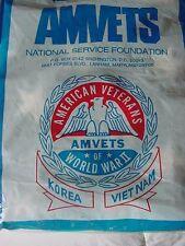 AMERICAN VETERANS OF WORLD WAR 11-KOREA-VIETNAM-SEALED IN ORIGINAL BAG