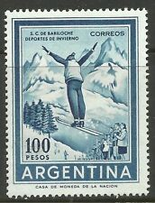 ARGENTINA. 1961. 100 Peso Ski Jumper. SG: 1025. Mint Lightly Hinged.