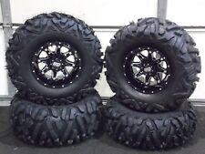 "Polaris Sportsman 570 26"" Quadking Atv Tire & Sti Hd4 Wheel Kit Pol3Ca Bigghorn"