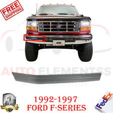 Front Bumper Molding Right Hand Passenger Side For 1992-1997 Ford F-Series