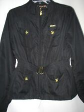 APPLE BOTTOMS..BLACK..SAFARI..JACKET..w GOLD TRIM..sz MED