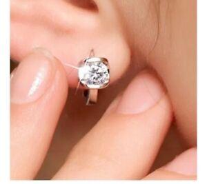 Swarovski Crystal White Gold-Plated Earrings