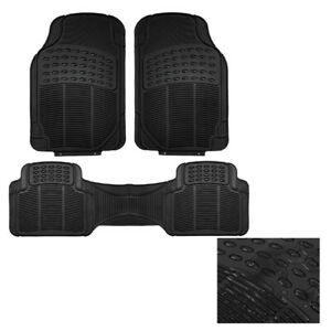 Advanced Non-slip Rubber Car Floor Mat Carpet FOR SSANGYONG MUSSO RUBBER UTE SUV