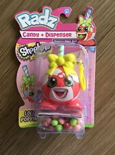 New Shopkins Radz Lolli Poppins Candy Dispenser Backpack Clip Tongue Pops Out