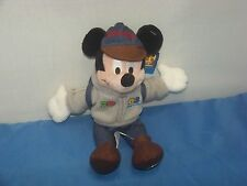 Mickey Mouse Bean Bag Plush 2003 With Tags Theme Park Edition Mickey Mouse