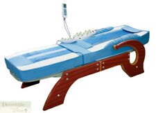 MASSAGE BED TABLE 11 FAR INFRARED HEATED JADE ROLLERS Spinal Traction Heal New