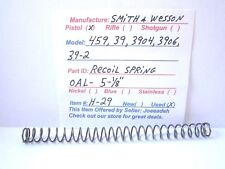 SMITH & WESSON   39, 39-2,  459, 3904, 3906.  (RECOIL SPRING)  ( H-29)