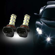 2PCS 9005 HB3 68 LED Car Driving DRL Daytime Running Light Fog Lamp Globes 6000K