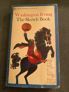 The Sketch Book by Washington Irving Signet Classic Paperback Americana Lit