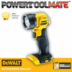 Dewalt DCL040N 18v XR li-ion LED pivot light/torch naked - body only