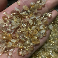 100g MINI 100% NATURAL CITRINE Quartz Crystal Particles Gem Specimen