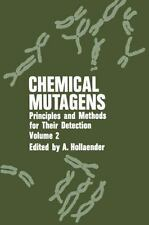 Chemical Mutagens : Principles and Methods for Their Detection: Volume-ExLibrary