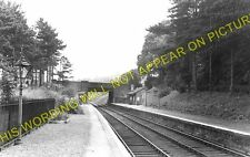 Charlton Kings Railway Station Photo. Cheltenham - Andoversford. GWR. (1)