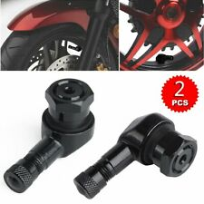 2 pezzi 90 Gradi 11.3mm Pneumatico Valvola Valve Wheel Stelo Moto Ruota Tyre 90°