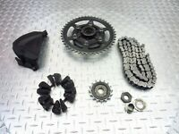 2010 08-12 TRIUMPH 675 STREET TRIPLE LOT FRONT SPROCKET COVER CHAIN REAR DAMPERS