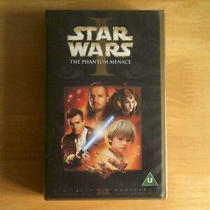STAR WARS: THE PHANTOM MENACE (1999) - VHS Video - 20TH CENTURY FOX - UK / PAL.
