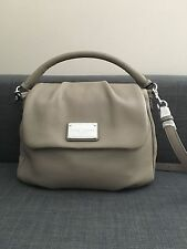 Marc Jacobs Classic Leather Shoulder Bag - BNWT - Colour Cement