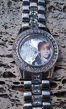 "Justin Bieber ~ Bieber Time Quartz Watch ~ cover reads. ""Justin's #1 girl....."""