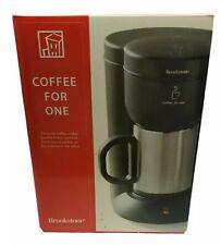 Brookstone Coffee Maker #260117 Black NOB