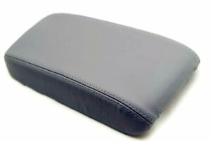 Fits 06-11 Honda Civic Real Leather Armrest Console Cover 06-11 Gray