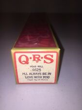 QRS Player Piano Word Roll 4625 I'll Always Be In Love With You Jeff Watters