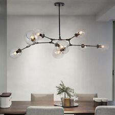 Black Chandelier Lighting Lobby Modern Ceiling Lamp Bedroom LED Pendant Lights
